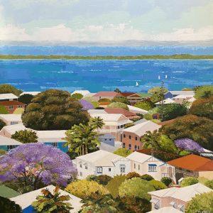 Rose Bay Manly Qld by Jennifer McNamara-Furlong